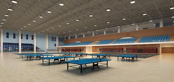 鄂托克旗体育活动中心电气、音频系统正式竣工