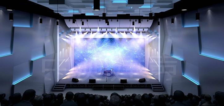 中测建声为四川某知名高校设计音乐厅